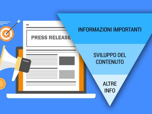 Come scrivere una press release con la tecnica della piramide invertita (o rovesciata)