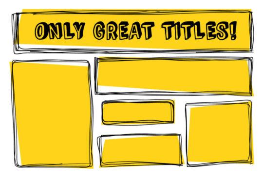 Come scegliere un titolo